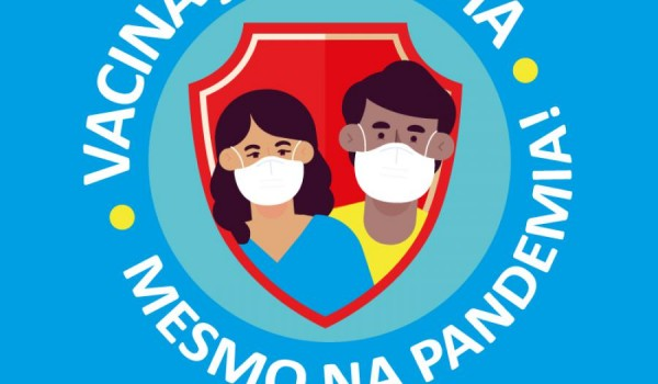 Vacinação em dia, mesmo na pandemia